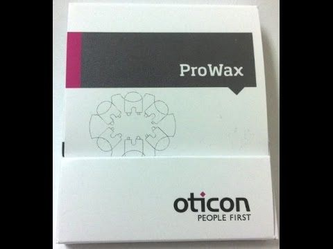 Oticon ProWax Nano Coated Wax Guards